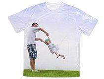World's Best DAD Photo T-Shirt