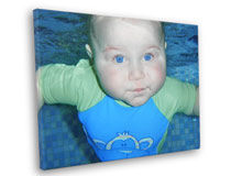 Baby Photo Canvas Prints