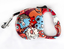 Personalised Retractable Dog Lead