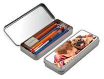 Pencil Case Tin Box