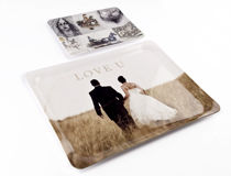 personalised photo tray