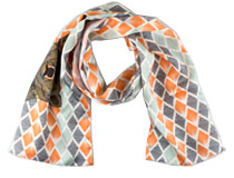 Printed Real Silk Scarf