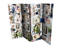 photo montage folding screen