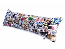 Photo Montage Sausage Cushions