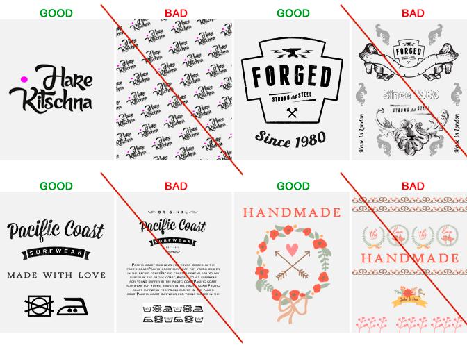 Short Run Personalised Printed Fabric Labels For Designers