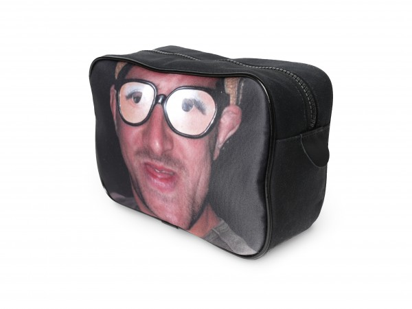 Man With Glasses On A Black Canvas Washbag Coming Up Gift Ideas For Your Boyfriend