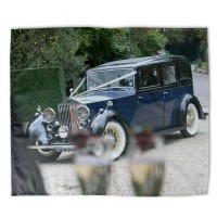 car picture printed on a bed sheet
