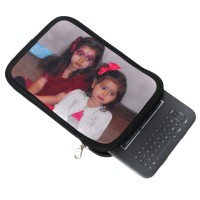 Amazing Christmas Gifts Kindle case with two girls in face paint