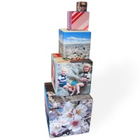 Photo Cube Tower as small xmas gift