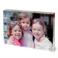Photo Block as xmas gift idea of three sisters with sunglasses