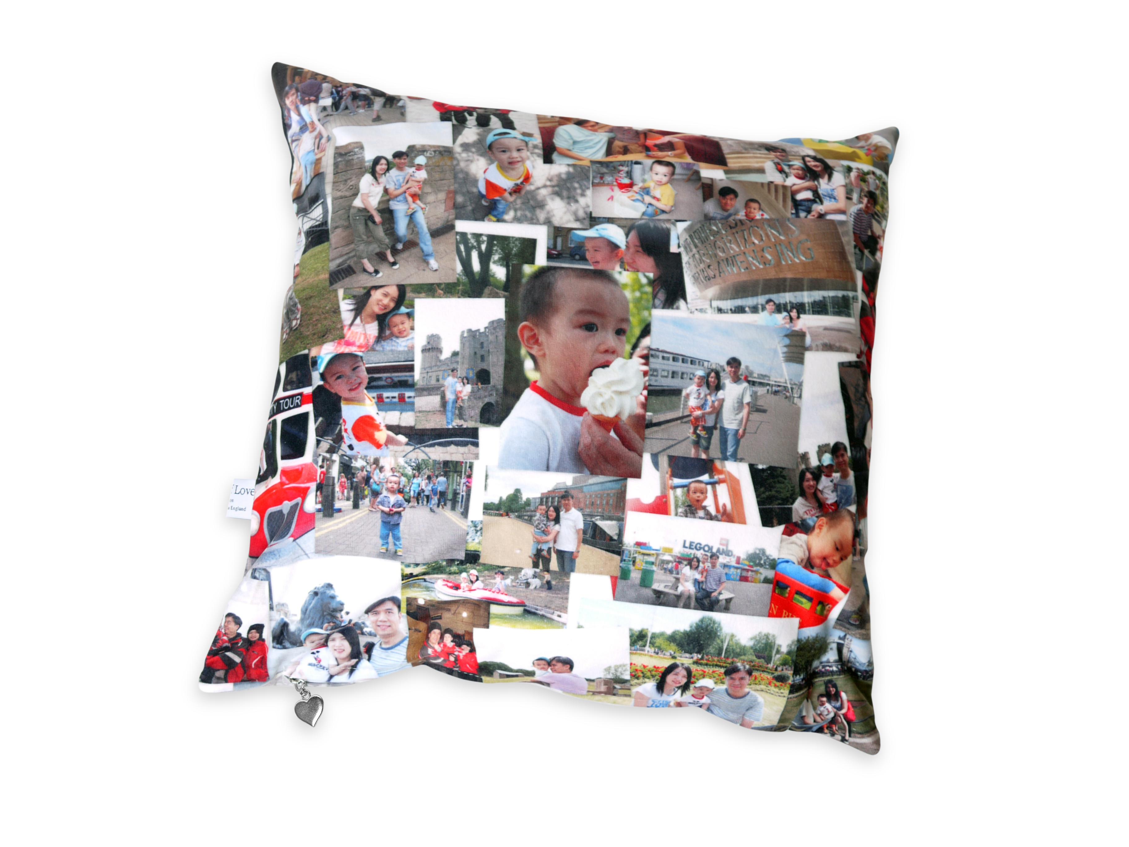 amazing christmas gifts photo montage cushion