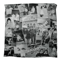 montage duvet cover for personalised xmas gift ideas B&W
