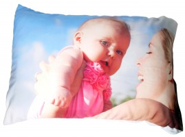 Special Christmas gifts pillow case with baby