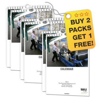 Personalised A5 Photo Calendars three pack deal