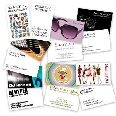 Personalised business cards business-card-display