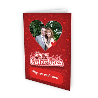 Valentine's Day gift ideas photo card