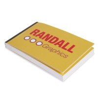 Personalised Business Cards booklet Randall Graphics