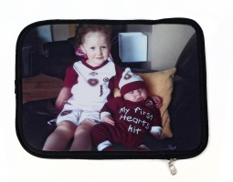 Christmas gifts for fathers iPad case with kids