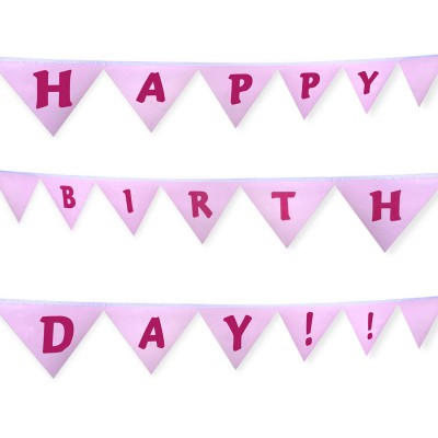 personalised bunting for birthdays