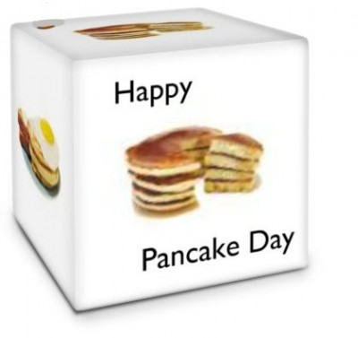 Photo Cube Pancake day