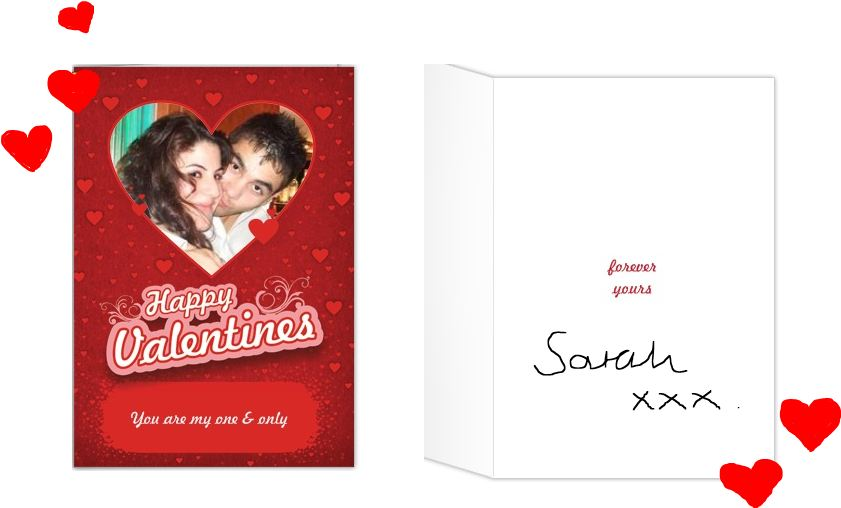 Valentines Day Card From Sarah Gift Ideas Blog