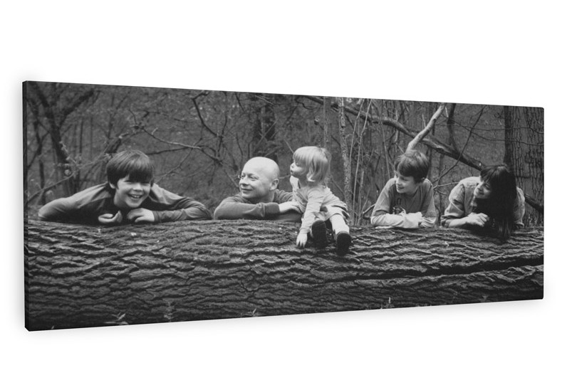 Black And White Family Photo Canvas Gift Ideas Blog