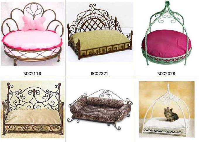 Wrought Iron Dog Beds Small