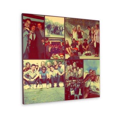 Photo montage canvas print