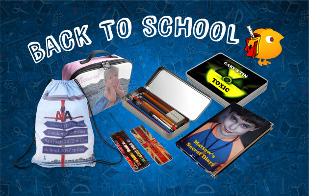 personalised school bags and cases