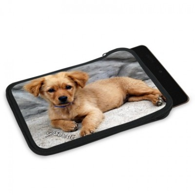personalised nexus 7 slip case with great dog photo