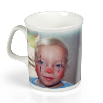 personalised bone china mug