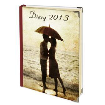 2013 personalised diary complete with your customised photos and images
