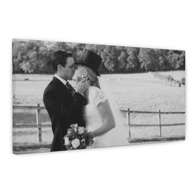 Wedding photo canvas