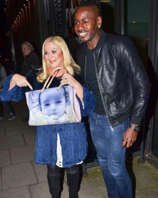 vanessa-feltz-baby-photo-luxury-handbag