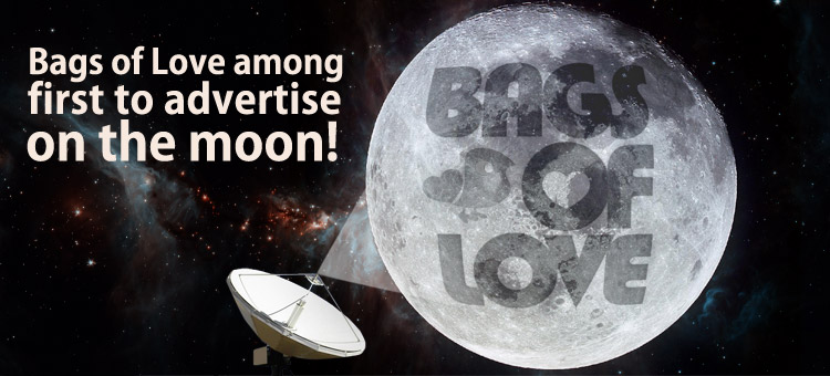 bags-of-love-logo-on-the-moon