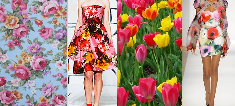 floral-print-catwalk-models-floral-dresses