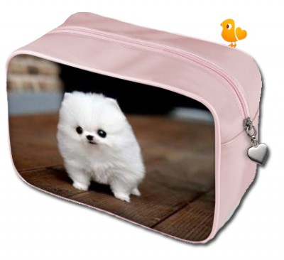 tiny-white-puppy-pink-make-up-bag