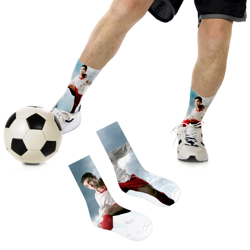 football-personalised-socks