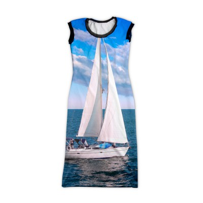 sail-boat-printed-dress