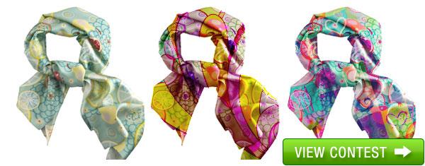 Summer Daze Silk Scarf Design Competition - Gift Ideas Blog