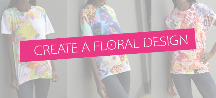 create-a-floral-design-on-a-t-shirt