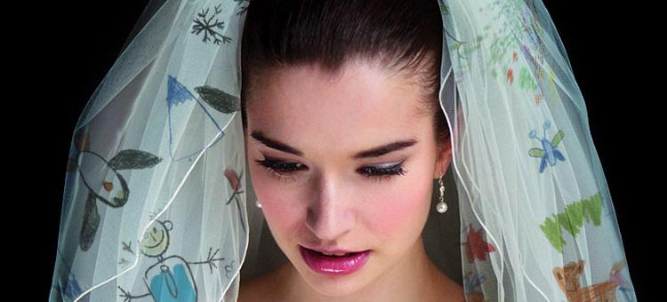 customised wedding veil