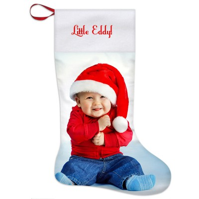 personalised christmas stocking baby