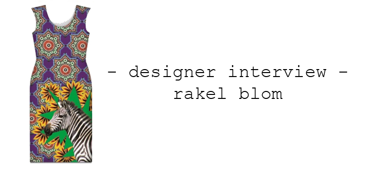designer interview rakel blom