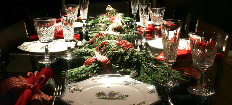 Christmas Dinner Table Gift Ideas Blog