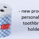 personalised toothbrush holder