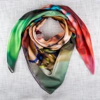real silk scarf