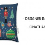 JONATHAN BOAT designer cushion