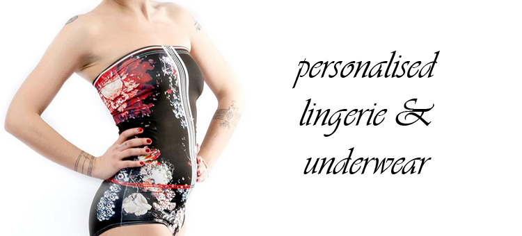personalised lingerie and underwear