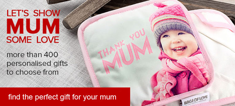 lets show mum some love. more than 400 personalised gifts to choose from. find the perfect gift for your mum